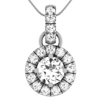 925 Sterling Silver Designer Silver Pendant for Women