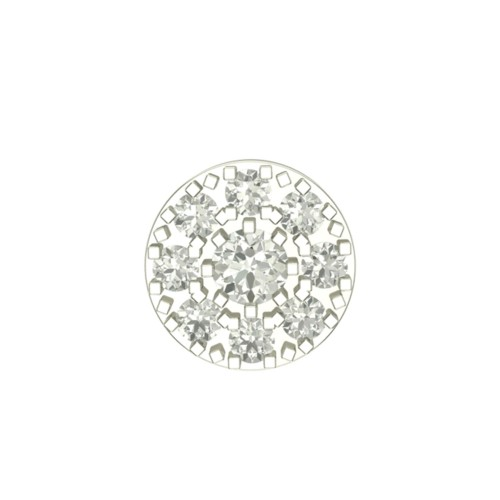 Beautiful Ayati White Gold Diamond Nosepin