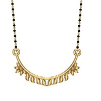 Geetika Yellow Gold Mangalsutra
