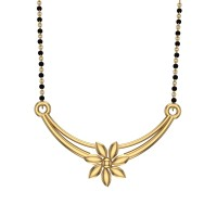 Hemani Yellow Gold Mangalsutra