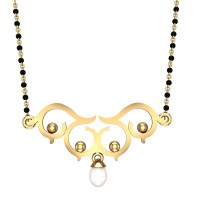 Manya Yellow Gold Mangalsutra