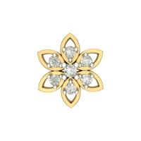 Bhakti Yellow Gold Diamond Nosepin