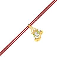 Gajanand Diamond Pend Rakhi Pendant