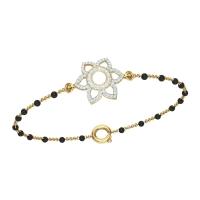 Krisha  Gold Diamond Bracelet