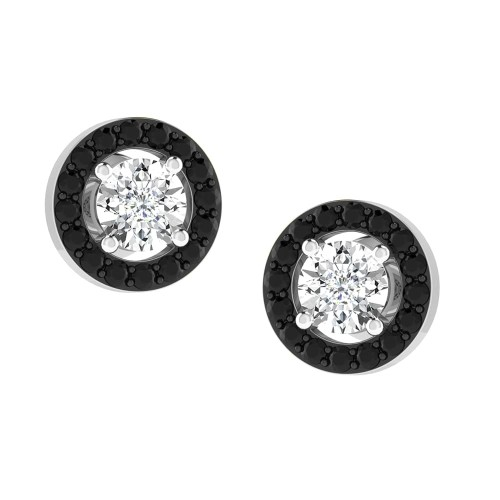 Amelia Black Diamond Studs