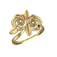 Sannvi Gold Ring