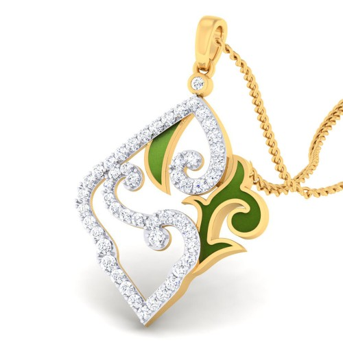 Arya Diamond Pendant