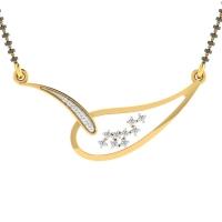 Tuishi Diamond Mangalsutra