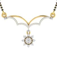 Bithi Diamond Mangalsutra