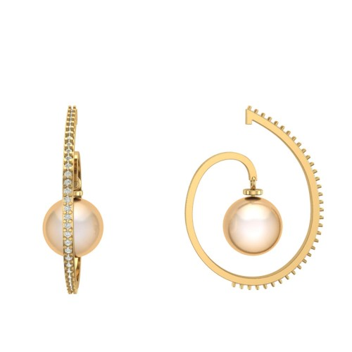 Samaira Diamond Earring