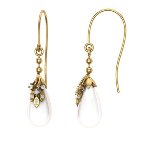 Maiyra Diamond Earring