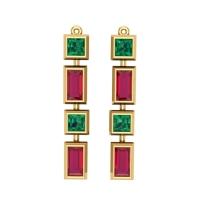 Drishya Gold Earring