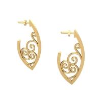 Aaradhya Gold Earring