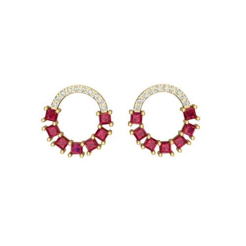 Udeeta Diamond Earring