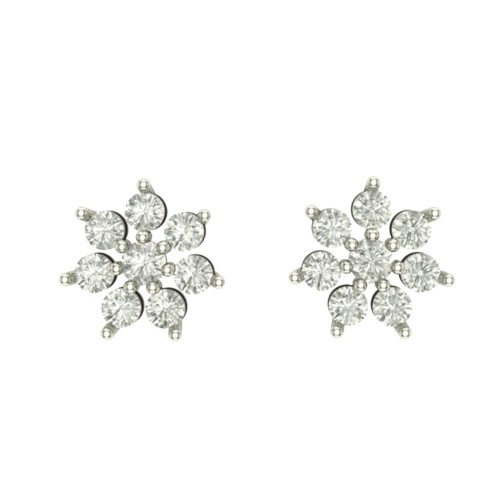 Malika Diamond Earring
