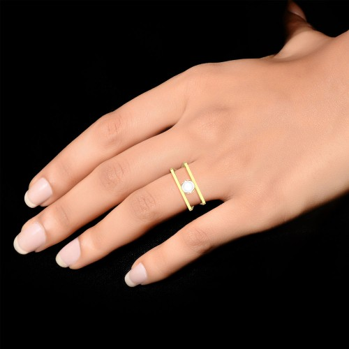 Janvi Gold Ring