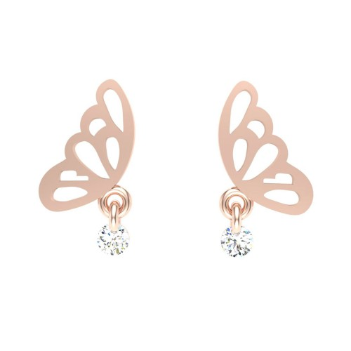 Butterfly Drop Earrings