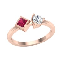 Preksha Diamond Ring