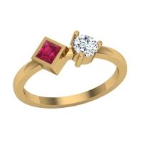 Alka Diamond Ring