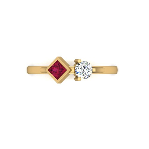 Alka Diamond Ring