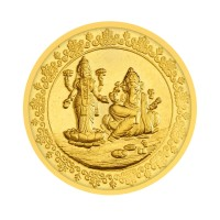 The Ganeshaya Laxmi Gold Coin