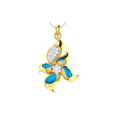 Shreya Diamond Pendant