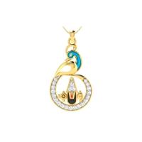 Tirupati Balaji Diamond Pendant
