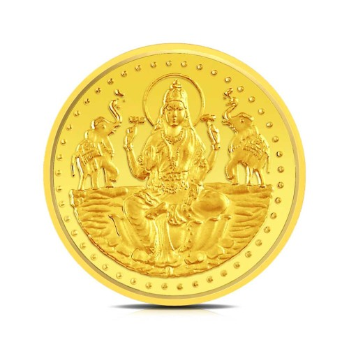 Shree Laxmi 1 Gram Gold Coin