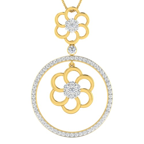 Amey Diamond Pendant
