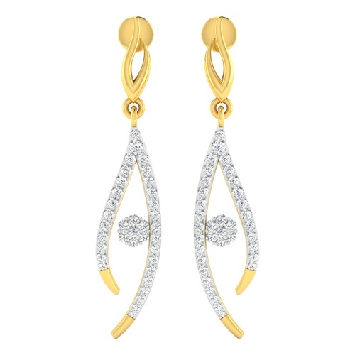 Melati Diamond Earrings