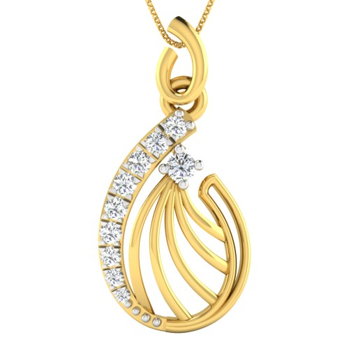 Saaz Diamond Pendant