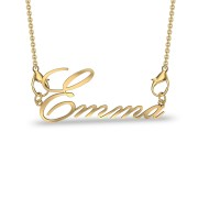 Emma Yellow Gold Pendant