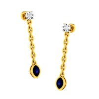 Bilva Diamond Earring