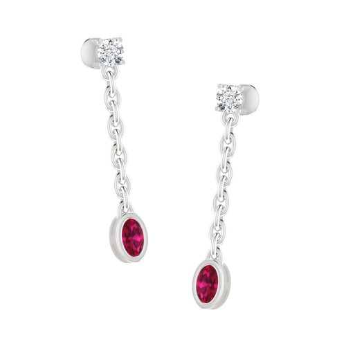 Bimal Diamond Earring