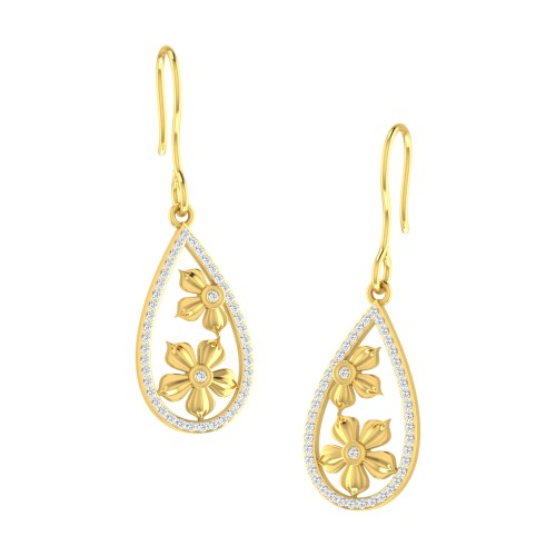 Bincy Diamond Earring