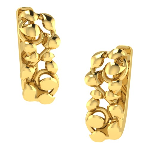 Neysa Gold Diamond Earrings