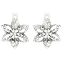 Charvi  White Gold  Diamond Earrings