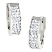 Mishti  White Gold  Diamond Earrings