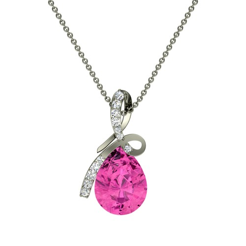 Vinaya  Diamond Pendant