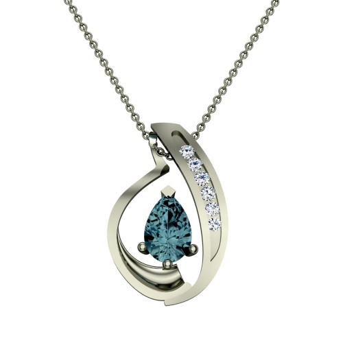Ushma  Diamond Pendant