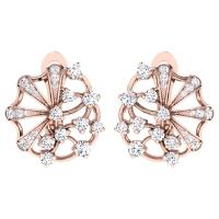 Anaya Rose Gold  Earrings