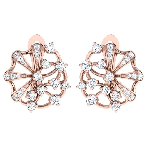 Anaya Rose Gold  Earrings