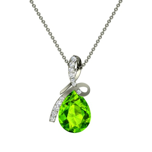 Anushree  Diamond Pendant
