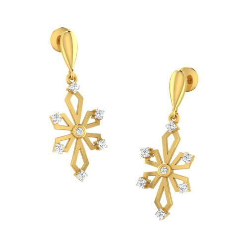 Anji Diamond Earring