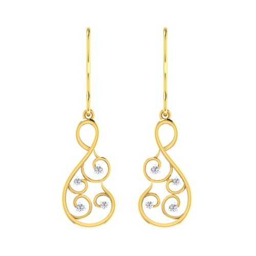 Ansh Diamond Earring