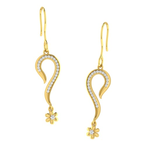 Anpurna Diamond Earring