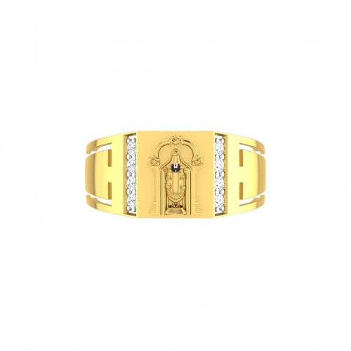 Hanumanji Balaji Diamond Ring