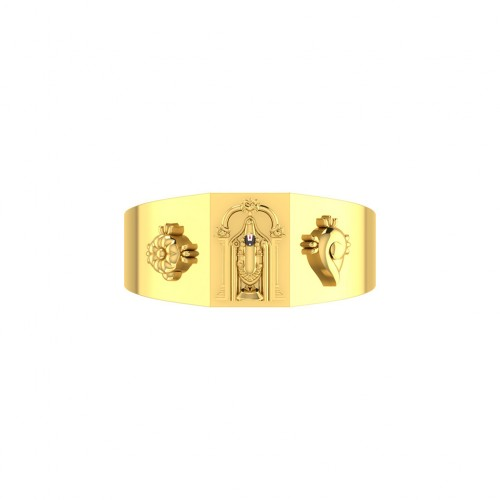 Venkateswara Gold Ring