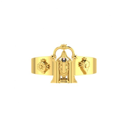 Lord Venkateswara Gold Ring