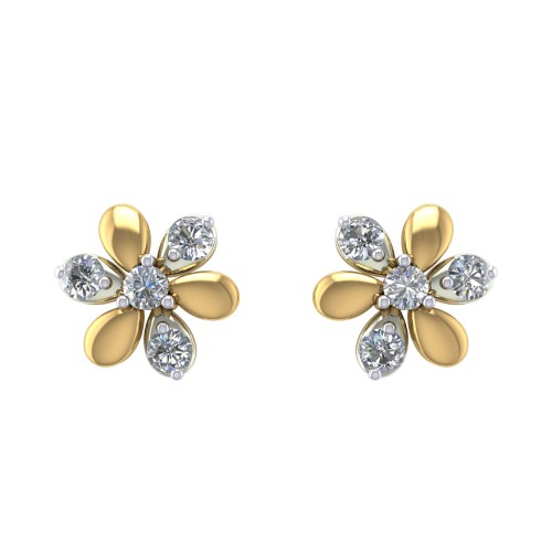Padmadhara Diamond Earrings